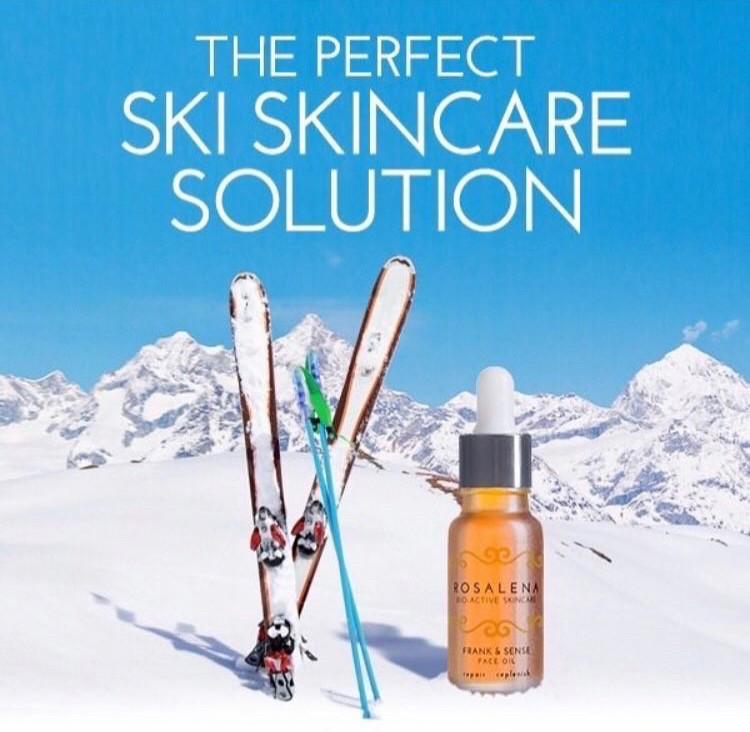 Frank & Sense Face Oil - perfect apres ski skincare