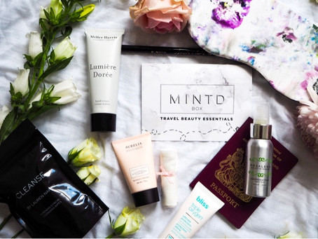 Travel Beauty Essentials with Mintd