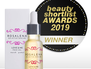 4 Awards for 4 Great Products at this year's Beauty ShortList Awards!