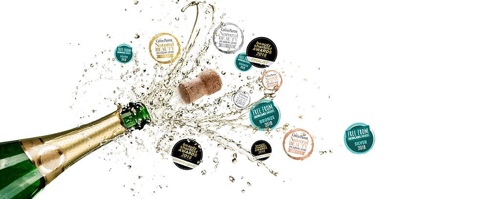 Beauty Awards 2018. Rosalena Skincare wins big