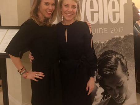 Rosalena's Night Out at The Conde Nast Traveller Spa Awards