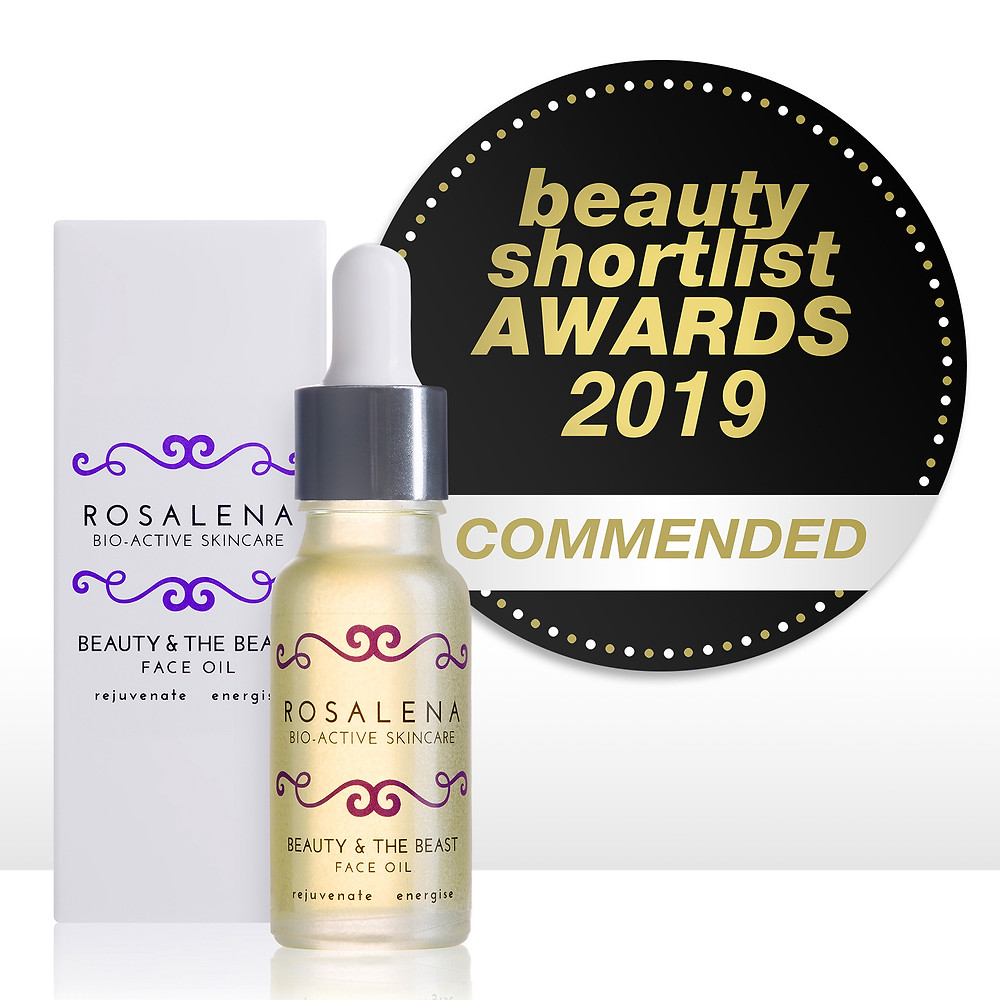 Beauty & the Beast Face Oil, Commended, The Beauty ShortList Awards 2019