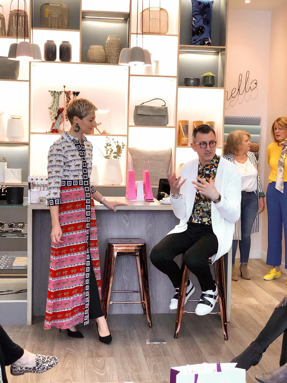 Helen and Olivier at Olivier's Lounge Spring-Summer 2019 fashion & lifestyle edit