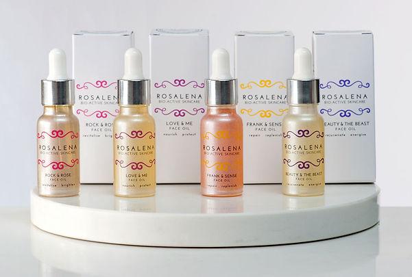 Rosalena Bio-Active Skincare Face Oils