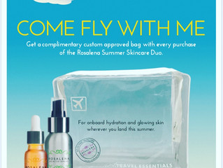 How to get GLOWING Skin wherever you land this summer.