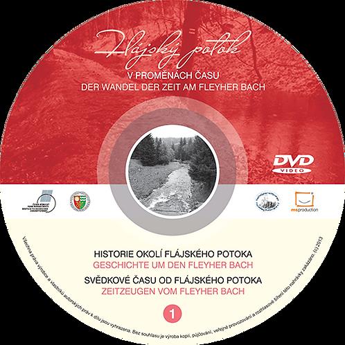 DVD Flájský potok v proměnách času