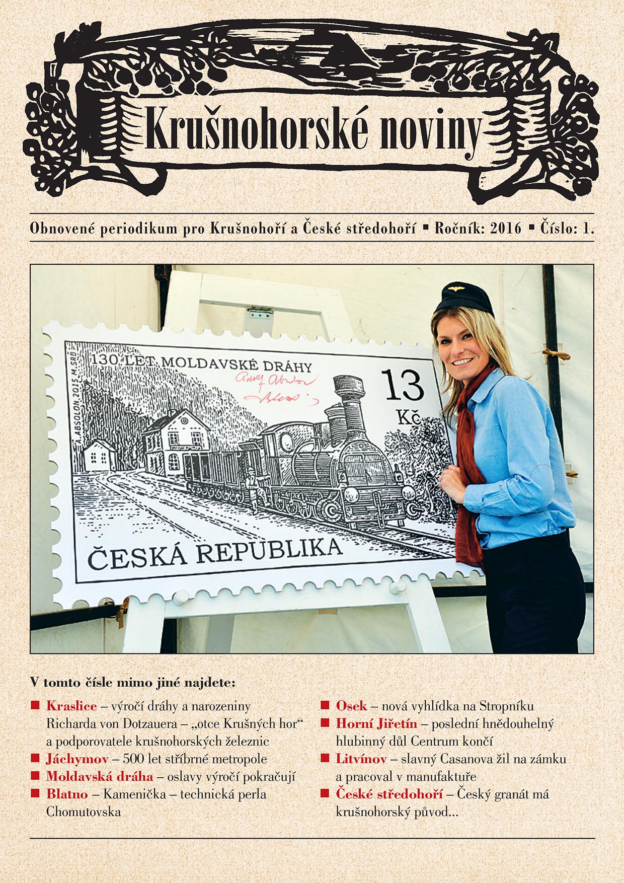 Krušnohorské noviny 01/2016
