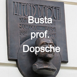 Busta prof. Dopsche