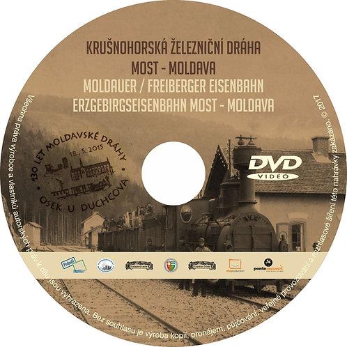 DVD Krušnohorská železniční dráha (jako příloha Krušnohorských novin)