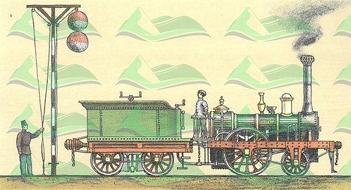 Grafické listy J. Boudy - Lokomotivy I