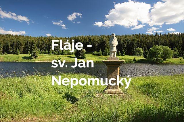 Socha sv. Jana Nepomuckého, Fláje