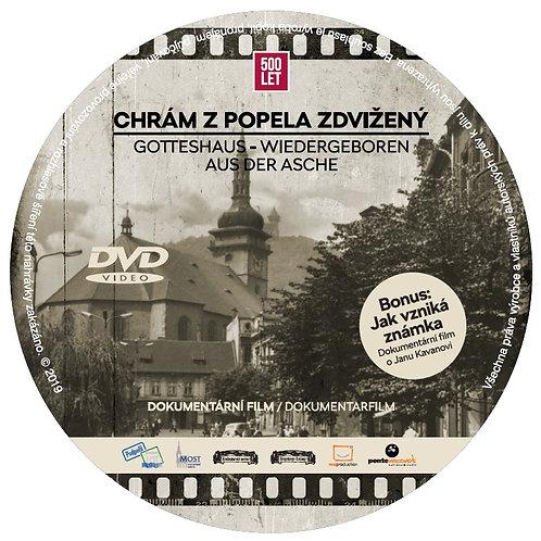 DVD Chrám z popela zdvižený (jako příloha Krušnohorských novin)