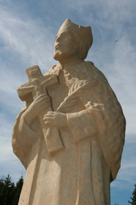 Socha sv. Jana Nepomuckého - Fláje