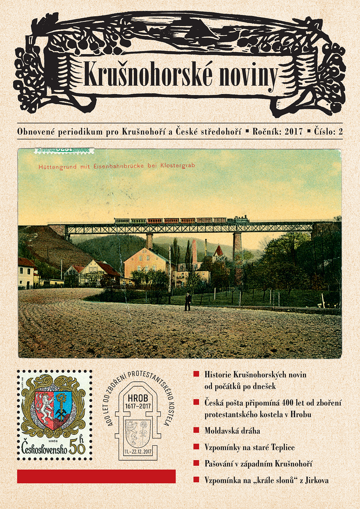 Krušnohorské noviny 02/20178