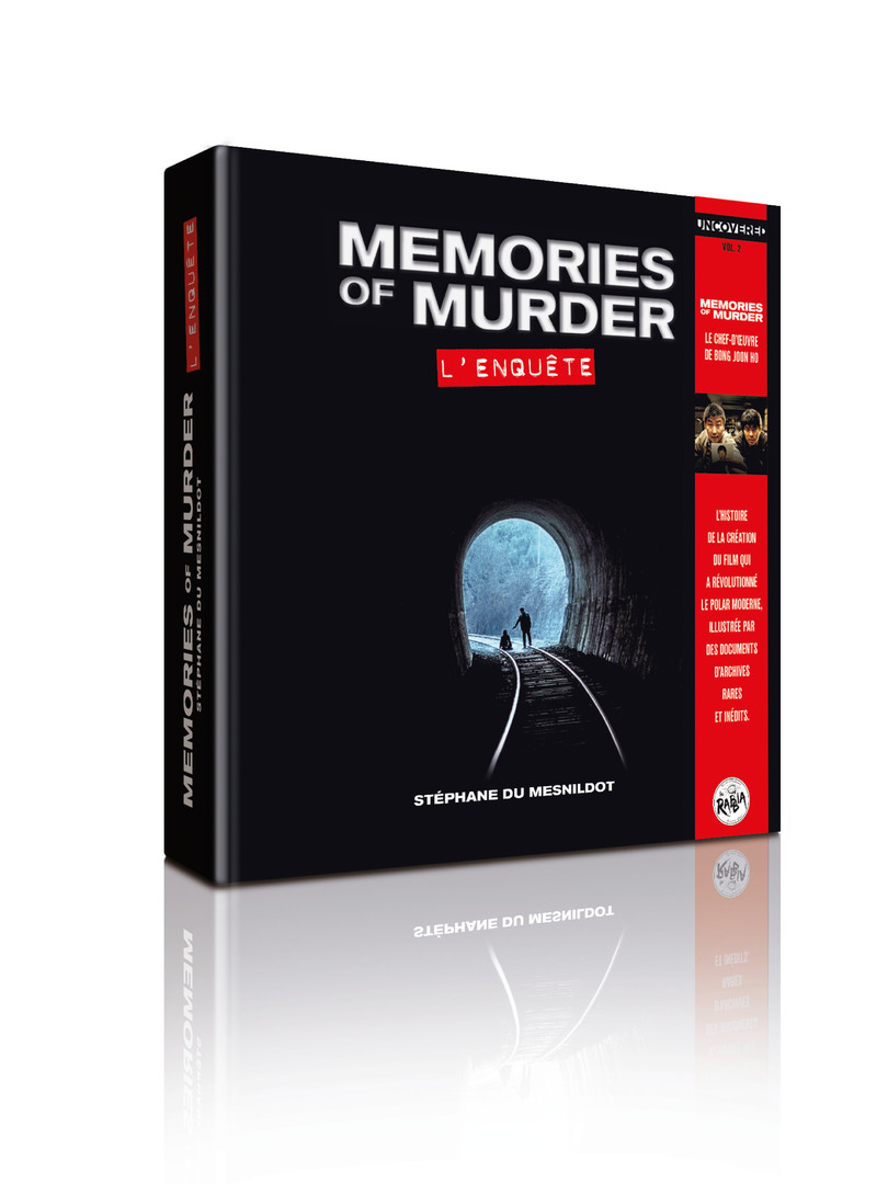"Livre ""Memories of Murder"""