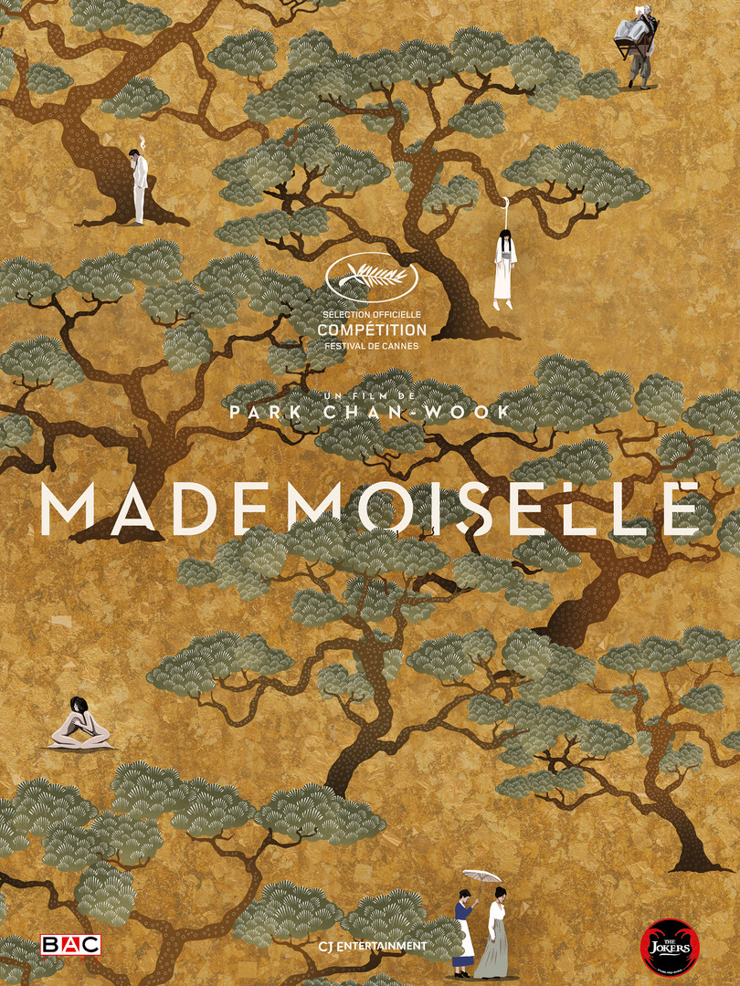 Affiche collector Mademoiselle