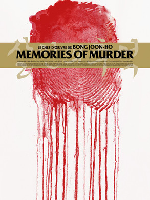 "Affiche collector ""Memories of Murder"" Jay Shaw"