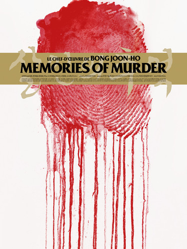 "Affiche collector ""Memories of Murder"" Jay Shaw"