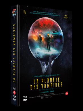 """Médiabook """"La Planète des Vampires"""""""