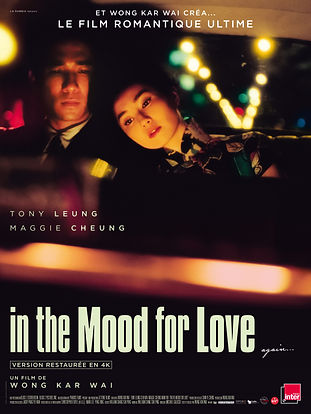 IN THE MOOD FOR LOVE - Affiche officiell