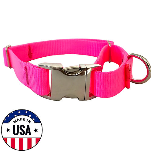 Martingale Collar Pink