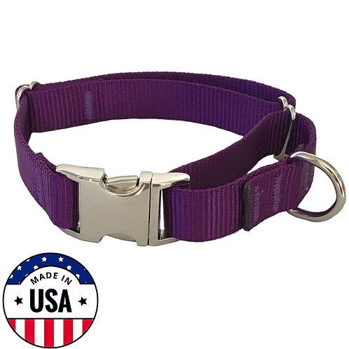 Martingale Collar Purple