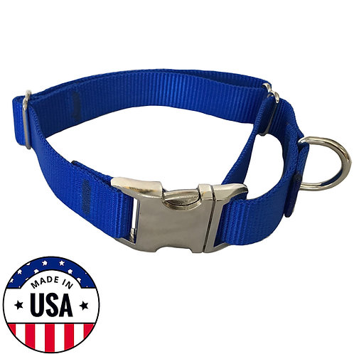 Martingale Collar Blue