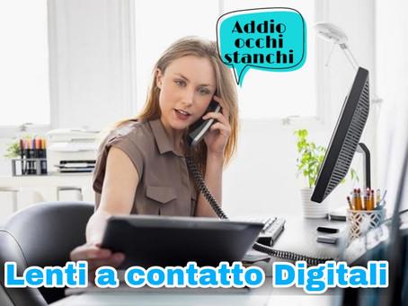 Le nuove lenti a contatto per la tua vita digitale