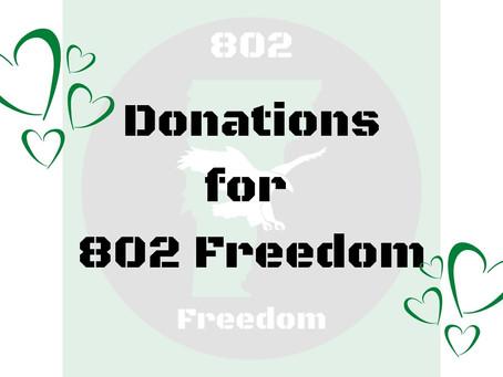 802 Freedom Fundraising