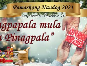 Pamaskong Handog 2021 Launched