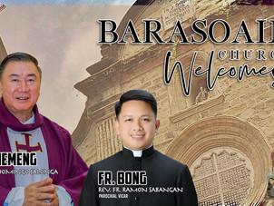Barasoain Welcomes New Parish Priests