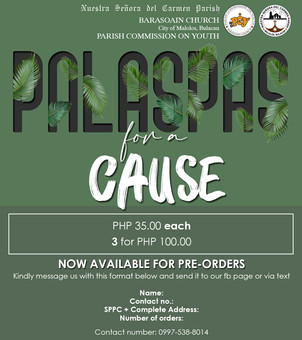 Youth Launches Palaspas for a Cause