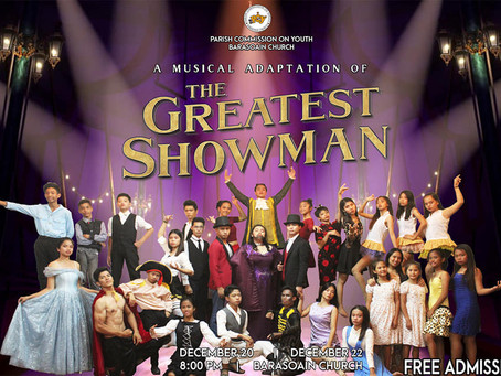 "Youth Stages ""The Greatest Showman"""