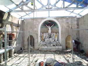 Rehabilitation of Barasoain Catholic Cemetery Continues