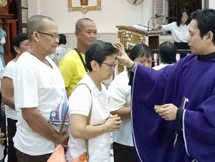 Parish Releases Schedule for Ash Wednesday