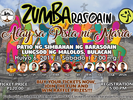 Parish Launches ZumBarasoain and BFF Run