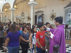 Schedule of Masses for Ash Wednesday, 2019