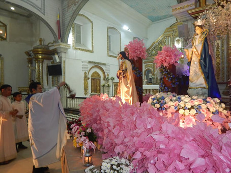 Barasoain Kicks-off Flores de Mayo 2019