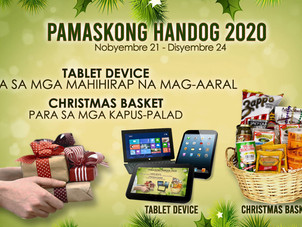 Pamaskong Handog 2020 Launched Amidst the Pandemic