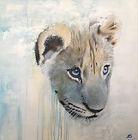 Lion Cub Art
