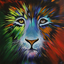 Wild Lion Art