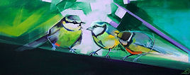 Bird Abstract Art