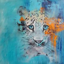 baby leopard art