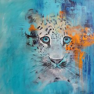 Baby Leopard Cub Art