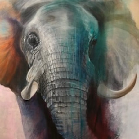 'Gentle Giant' unframed price