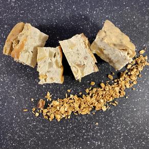 Pear Tofu Cheesecake