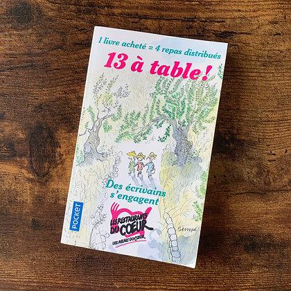13 à table ! pour célébrer l'amitié