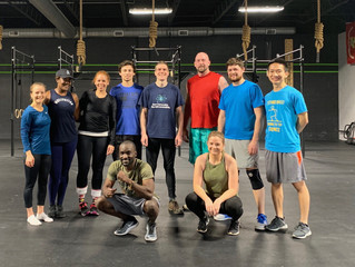 12 DAYS OF CROSSFIT  12/25/18