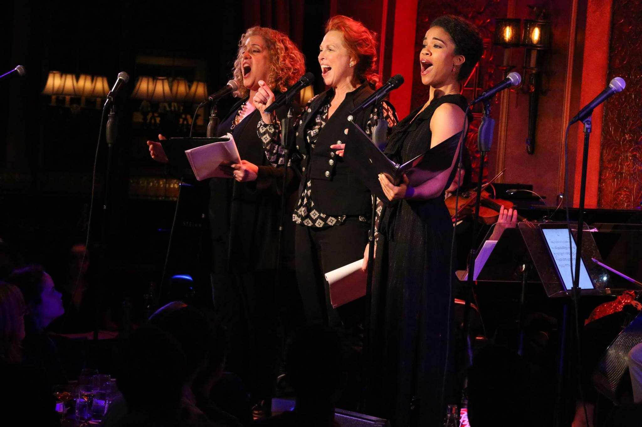 Mary Testa, Carolee Carmello, ...