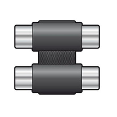 761.413 | Adaptor | Coupler | 2 x Phono (RCA) Sockets to 2 x Phono (RCA) Sockets